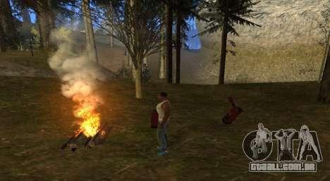 O fogo para GTA San Andreas