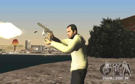 GTA 5 Tec-9 para GTA San Andreas décima primeira imagem de tela