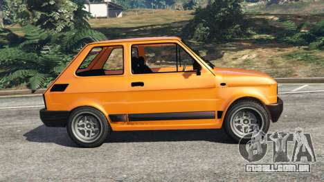 GTA 5 Fiat 126p v1.0 vista lateral esquerda