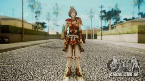 Dynasty Warriors 8 - Sun ShangXian (DLC ROTTK) para GTA San Andreas segunda tela