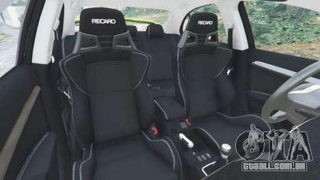 Roda GTA 5 Mitsubishi Lancer Evolution X FQ-400