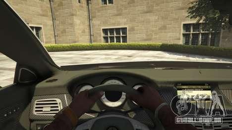 GTA 5 Mercedes-Benz CLS 6.3 AMG [BETA] voltar vista