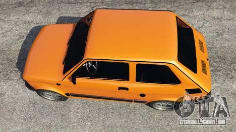 GTA 5 Fiat 126p v1.0 voltar vista
