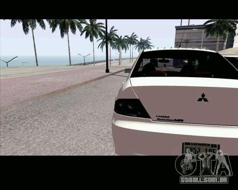 ENB Settings by J228 para GTA San Andreas segunda tela