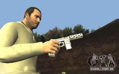 GTA 5 Tec-9 para GTA San Andreas sétima tela