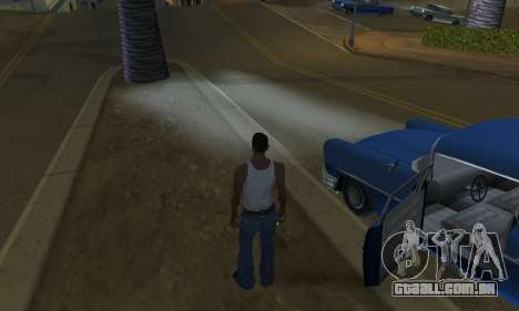 Realistic Lights para GTA San Andreas quinto tela
