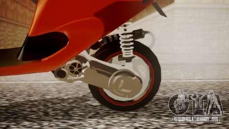 Zip SP Stage6 Cup para GTA San Andreas vista direita