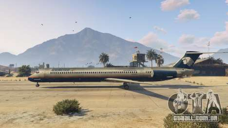 GTA 5 McDonnell Douglas MD-80 terceiro screenshot