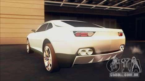 Chevrolet Camaro DOSH Tuning v0.1 Beta para GTA San Andreas esquerda vista