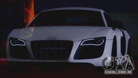 Audi R8 GT 2012 Sport Tuning V 1.0 para GTA San Andreas vista traseira