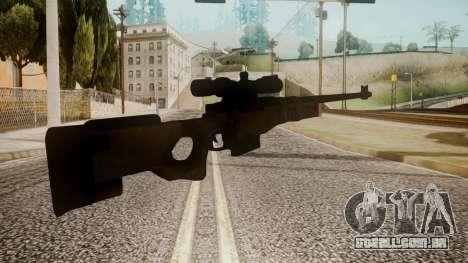 Sniper Rifle by catfromnesbox para GTA San Andreas segunda tela