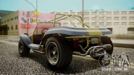 GTA 5 BF Bifta para GTA San Andreas esquerda vista