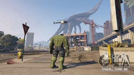 GTA 5 The Hulk quarto screenshot