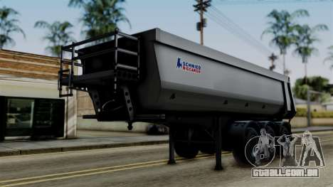Schmied Bigcargo Solid Trailer Stock para GTA San Andreas