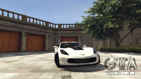 Chevrolet Corvette C7 Z06 para GTA 5