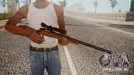 Low Poly Hunting Rifle para GTA San Andreas terceira tela