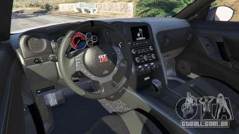GTA 5 Nissan GT-R (R35) [RocketBunny] v1.2 traseira direita vista lateral