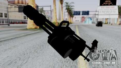 M134 Minigun para GTA San Andreas segunda tela
