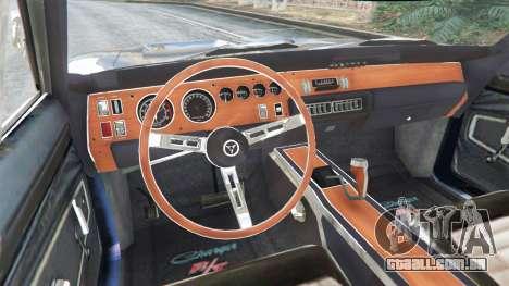 Dodge Charger RT 1970 v3.0 para GTA 5