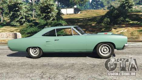 GTA 5 Plymouth Road Runner 1970 [fix] vista lateral esquerda