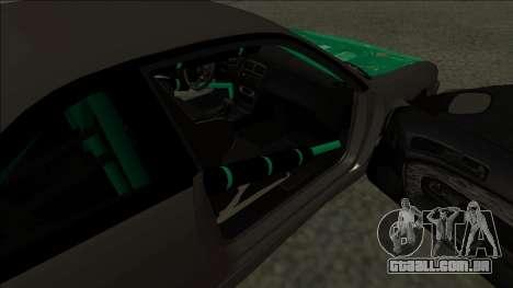 Nissan 200sx Drift para GTA San Andreas traseira esquerda vista