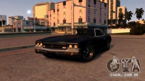 Sabre Vigero Muscle Car para GTA 4