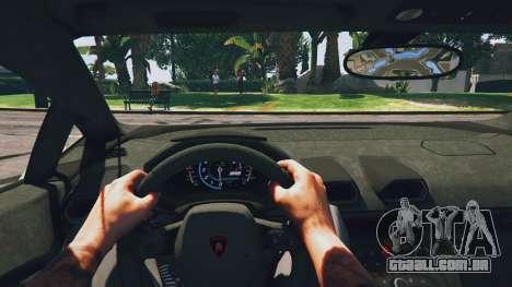 GTA 5 LibertyWalk Lamborghini Huracan voltar vista