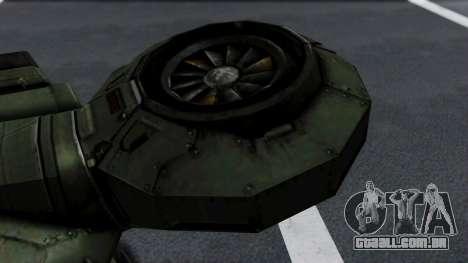 Hornet Halo 3 para GTA San Andreas vista direita