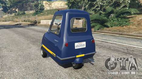 GTA 5 Peel P50 Police voltar vista