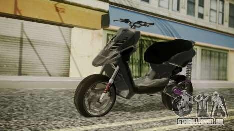 MBK Booster Rocket Tuning para GTA San Andreas