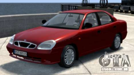 Daewoo Nubira II Sedan S PL 2000 para GTA 4 esquerda vista