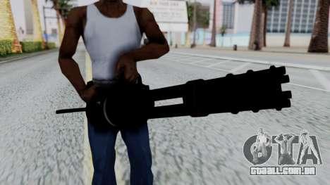 M134 Minigun para GTA San Andreas terceira tela