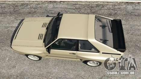 GTA 5 Audi Sport quattro v1.4 voltar vista