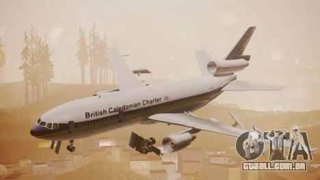 DC-10-30 British Caledonian Charter para GTA San Andreas