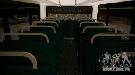 Chevrolet B70 Bus Colombia para GTA San Andreas vista traseira
