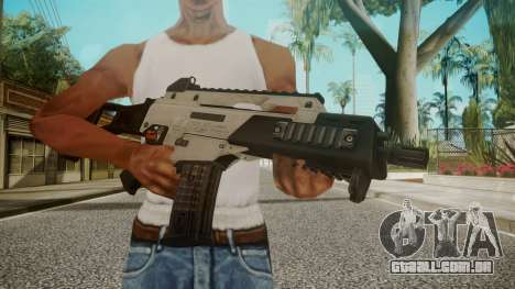 G36C Silver para GTA San Andreas terceira tela