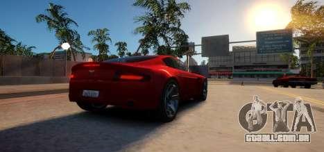 Aston Martin DB9 Vice City Deluxe para GTA 4 vista direita