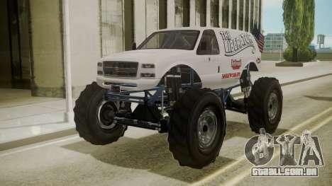 GTA 5 Vapid The Liberator para GTA San Andreas