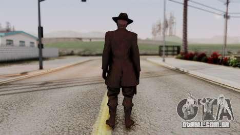 SkullFace Hat para GTA San Andreas terceira tela