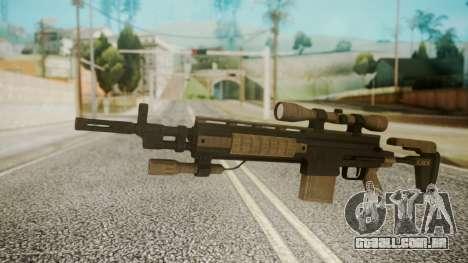 Sniper Rifle from RE6 para GTA San Andreas