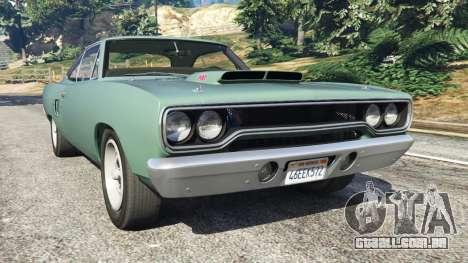 Plymouth Road Runner 1970 [fix] para GTA 5