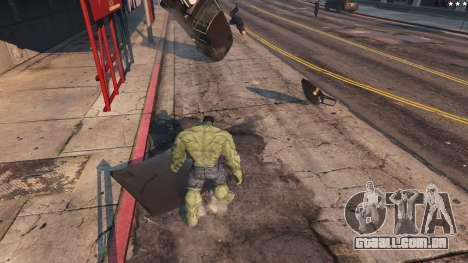 GTA 5 The Hulk oitmo screenshot