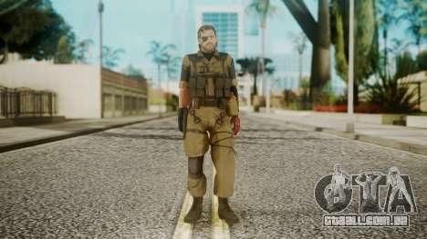 Venom Snake Olive Drab para GTA San Andreas segunda tela