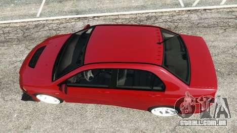 GTA 5 Mitsubishi Lancer Evolution IX Dk voltar vista