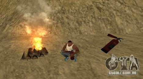 O fogo para GTA San Andreas segunda tela