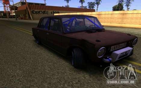 VAZ 2101 Carro para GTA San Andreas esquerda vista