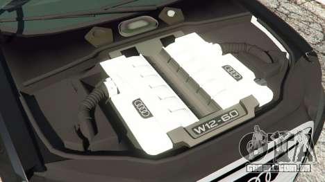 Audi A8 para GTA 5