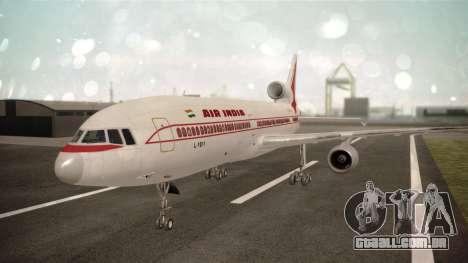 Lockheed L-1011 Air India para GTA San Andreas