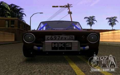 VAZ 2101 Carro para GTA San Andreas vista direita
