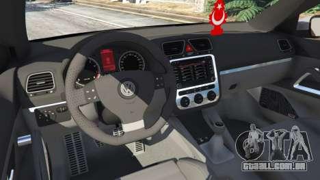GTA 5 Volkswagen Scirocco [Beta] traseira direita vista lateral